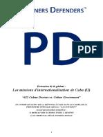 FR - Complaint Case - 622 Cuban Doctors vs the Cuban Government v5.0