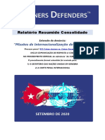 BR-PT - Briefing of the Case 622 Cuban doctors vs. Cuban Government - ICC&UN
