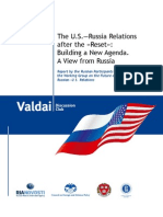 The U.S.—Russia Relations  after the «Reset»