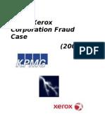 Xerox Corporation Fraud Case 1233641589554599 2