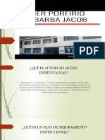 Plan de Mejoramiento Institucional