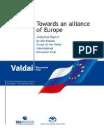 Towards an alliance of Europe