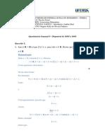 EAD0211 - Introdução a Análise Real - Questionário Semanal 9 - Disponível de 10-05 a 16-05