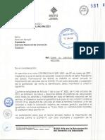 Documento del Ministerio de Salud y Deportes