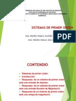 CLASE 13 SISTEMAS DE PRIMER ORDEN