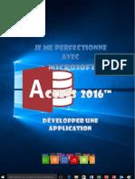 Je Me Perfectionne Avec Access 2016 - Développer Une Application
