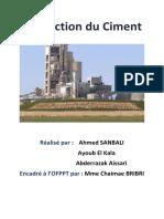 Production du Ciment (1)