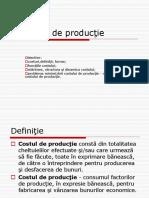 Curs 8. Costurile de Prod