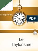 Cours Taylorisme
