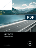 Manual condutor Van Sprinter