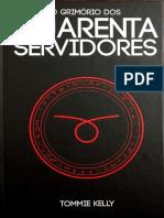 Grimorio Dos Quarenta Servidores