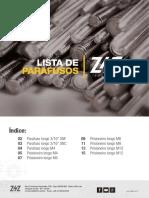 Catalogo de Prisioneiros Longos