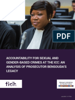 Accountability for sexual and gender-based crimes at the ICC