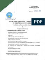 1-Lettre circulaire n°01063-MEF-SG pour 2020