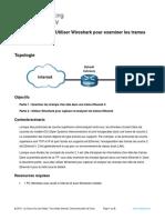 7.1.6 Lab Use Wireshark to Examine Ethernet Frames Fr FR