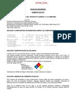 Hdsm 0265 Cemento de Pvc n.e.