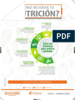 Afiche Como Mejorar Nutricion
