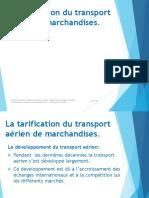 Tarification du transport aérien de marchandises VDif