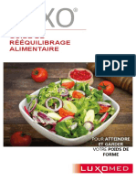 GUIDE DE REEQUILIBRAGE ALIMENTAIRE - EDITION 2015