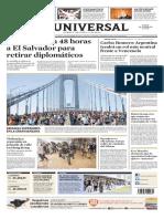El Universal portada_deu_20191104