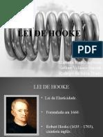 2 - Lei de Hooke