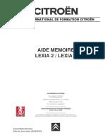 Aide Memoire LEXIA Stagiaire
