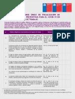 Formulario Unico de Fiscalizacion Ley N21.342