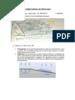 Examen Parcial de Hidrología - Rivera Palacios Jorge Jesús