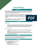 Curso Virtual Saber Pro