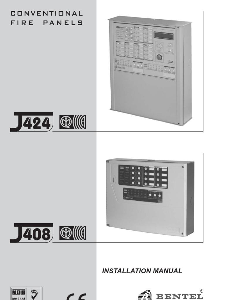 BENTEL J424 MANUAL PDF