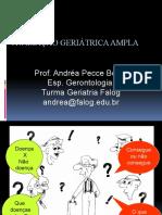 AULA 1 Avaliaçao geriatrica ampla