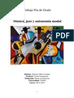 TFG - Msica jazz y autonoma modal