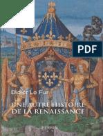 Une autre histoire de la Renaissance by Didier Le Fur