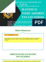 RATIOS O INDICADORES FINANCIEROS