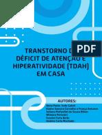 e-book Transtorno de déficit de atenção e hiperatividade TDAH em casa