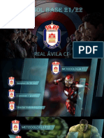 Dossier Cantera vengadores Ávila