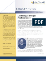 John Carroll University Faculty NotesMarch 2009