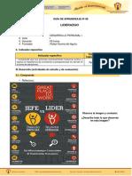 GUIA DE APRENDIZAJE  - 6  LIDERAZGO