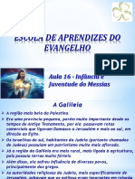 EAE Aula 16 - Infância e Juventude Do Messias (EAB)