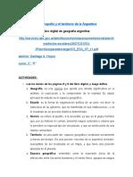 definicion de geografia, Estado y Nación, 2° año - 2021 (Autoguardado)