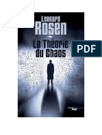 eBook Leonard Rosen - La Theorie Du Chaos