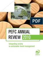 PEFC Annual Review 2010