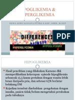 Hipoglikemia and Hiperglikemia