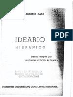 Caro Miguel Antonio Ideario Hispánico