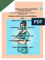 MODELO DE CUIDADO-ENFERMERIA