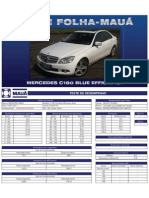 Teste Folha-Mauá - Mercedes C180 Blue Efficiency