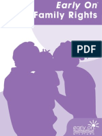 """Early On Guidebook 4, """"Family Rights"""""""
