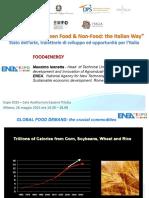 BioEconomy between Food & Non-Food_ the Italian Way Stato dell arte, traiettorie di sviluppo ed opportunità per l Italia - PDF