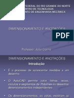 AULA 16 Dimensionamento e Anotacoes