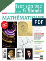 Reviser Son Bac Avec Le Monde MATHeMATIQUES